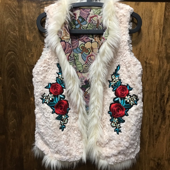 Jackets & Blazers - One of a Kind Faux Fur Vest